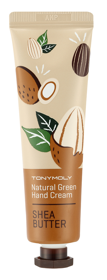 TONYMOLY Крем для рук / Natural Green Hand Cream Shea Butter 30 мл