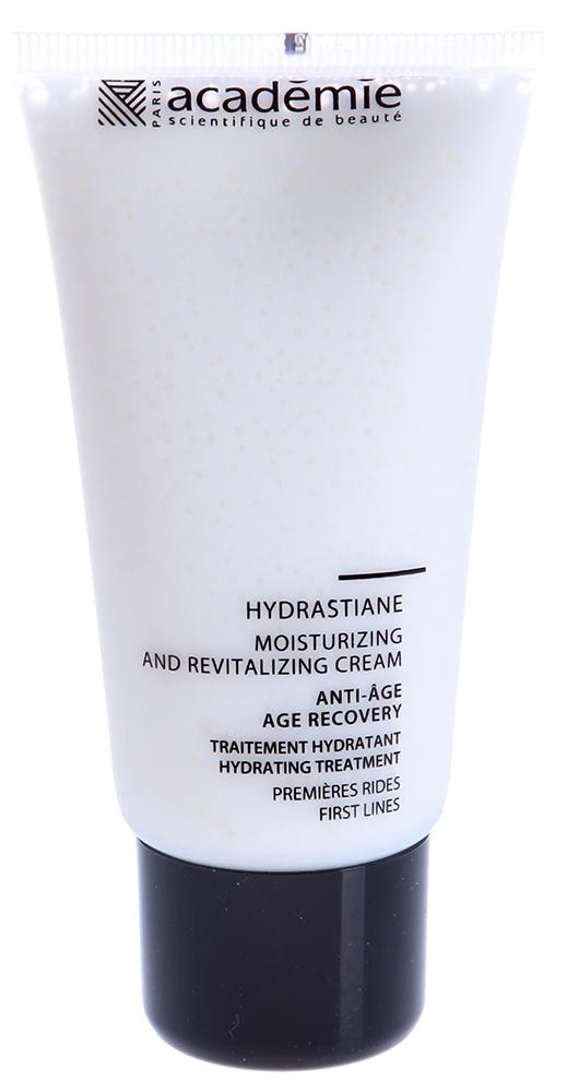 ACADEMIE Крем увлажняющий восстанавливающий Hydrastiane / VISAGE 50млКремы<br>Крем для всех типов чувствительной кожи с признаками обезвоженности. Наполняет кожу влагой, успокаивает, смягчает. Разглаживает мелкие морщинки, успокаивает и восстанавливает чувствительную кожу. Результат: Гладкая, наполненная сиянием и здоровьем кожа без чувства стянутости, шелушения и раздражения. Активные ингредиенты: экстракт термальных водорослей: 2,84%,&amp;nbsp;масло жожоба: 2,4%,&amp;nbsp;экстракт дрожжей: 2%,&amp;nbsp;производная кремния: 1,9%,&amp;nbsp;увлажняющий комплекс: 1,24%,&amp;nbsp;гипоаллергенный активный ингредиент 0.2%, концентрация активных ингредиентов 10.58%. Способ применения:&amp;nbsp;крем рекомендуется использовать 1-2 раза в день. Нанести крем на очищенную и тонизированную кожу и впитать мягкими массажными движениями.<br><br>Объем: 50 мл