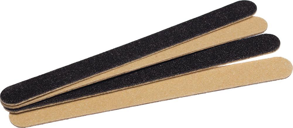 DEWAL BEAUTY Пилки деревянные для ногтей 11,5 см 8 шт