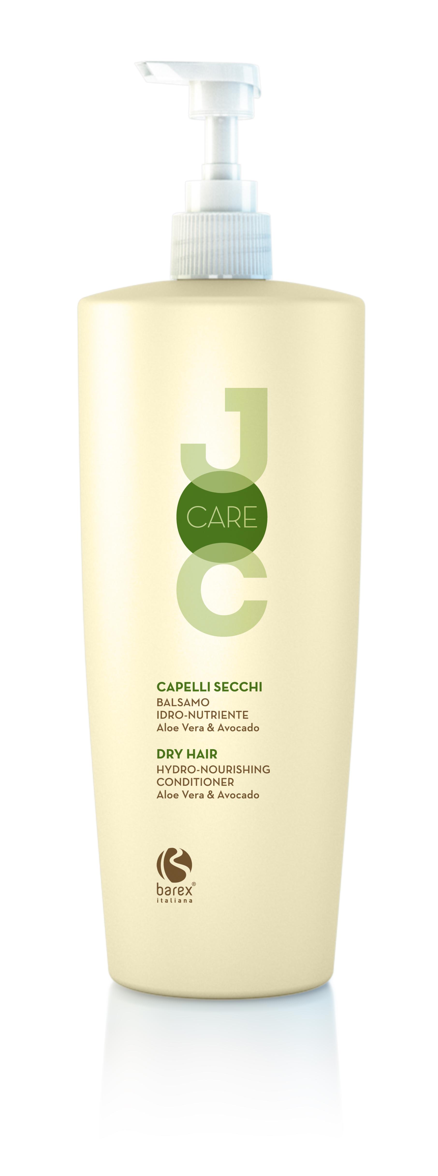 BAREX Бальзам для секущихся и ослабленных волос с Алоэ Вера и Авокадо / JOC CARE 1000млБальзамы<br>Идеально подходит для питания и укрепления сухих и обезвоженных волос, не утяжеляя их. Волосы становятся объёмными, сияющими, легко поддаются укладке. Алоэ вера: растение, богатое минералами, витаминами и аминокислотами, увлажняет волосы. Масло авокадо: ухаживает за сухими и хрупкими волосами, делая их мягкими и шелковистыми. Мгновенно улучшает структуру волос, облегчая их расчёсывание. Активные ингредиенты: алоэ вера, масло авокадо. Способ применения: нанести на чистые влажные волосы, массирующими движениями распределить равномерно по всей длине волос и оставить на несколько минут.<br><br>Назначение: Секущиеся кончики