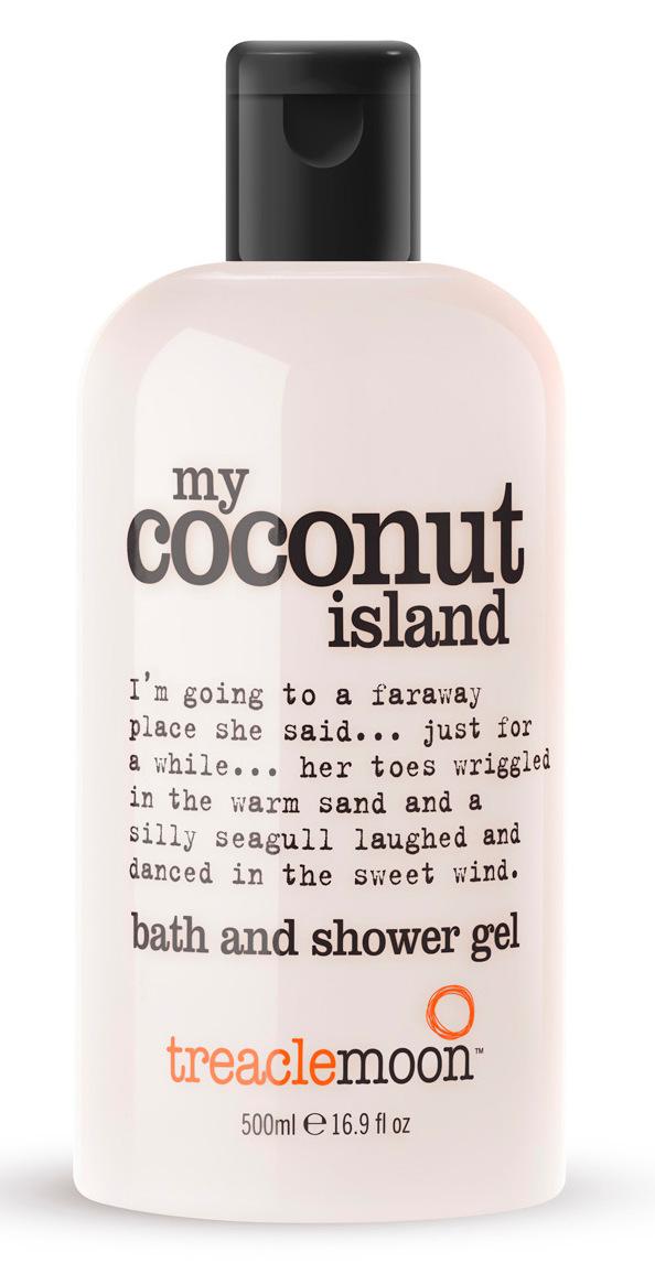 Купить TREACLEMOON Гель для душа Кокосовый рай / My coconut island bath & shower gel 500 мл
