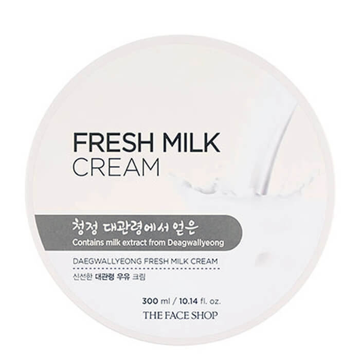 THE FACE SHOP Крем молочный / Daegwallyeong Fresh Milk Cream 300 мл