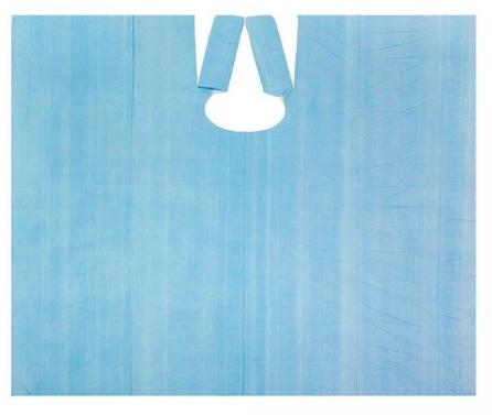 IGRObeauty Пеньюар большой 110*160 см 20 мкр, цвет синий металл 50 шт