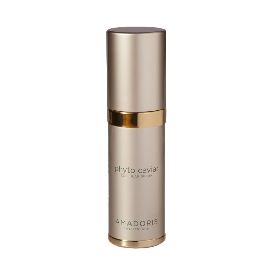 AMADORIS Сыворотка интенсивная Фитоикра 30млСыворотки<br>Обеспечивает длительное увлажнение, способствует регенерации клеток, задерживает старение кожи. Помогает сохранить эластичность, упругость и тонус. Защищает от вредного солнечного излучения. Способствует значительному осветлению коричневых пятен. Микрорельеф кожи становится гладким. Активные ингредиенты: Фитоикра или морской виноград; зеленые водоросли-смесь морского винограда и гидролизованных протеинов риса, стволовые клетки критмума морского, масло кунжутного семени, масло ши, сорбит, гиалуроновая кислота, пальмитоил, Трипептид-5.  Способ применения: Наносить утром и вечером на очищенную тоником кожу лица и шеи.<br><br>Возраст применения: После 45
