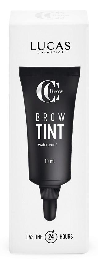 LUCAS' COSMETICS Тинт гелевый водостойкий для бровей, коричневый / BROW TINT brown CC Brow