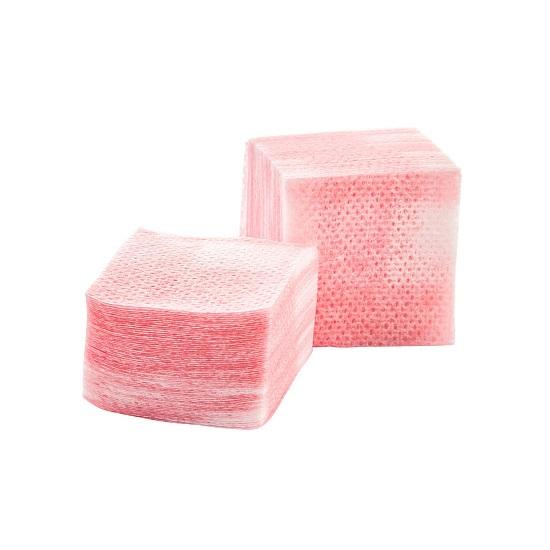 Купить IRISK PROFESSIONAL Салфетки безворсовые 4 х 4 см, 02 розовые 750 шт