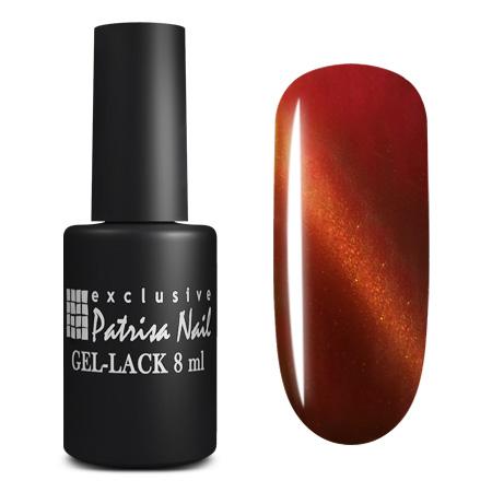 Купить PATRISA NAIL K4 гель-лак для ногтей Кошачий глаз, розовый топаз 8 мл, Красные