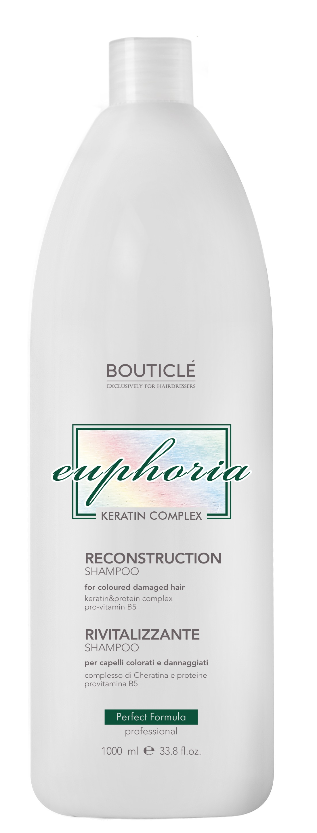 BOUTICLE Шампунь восстанавливающий / Reconstruction Shampoo 1000 мл