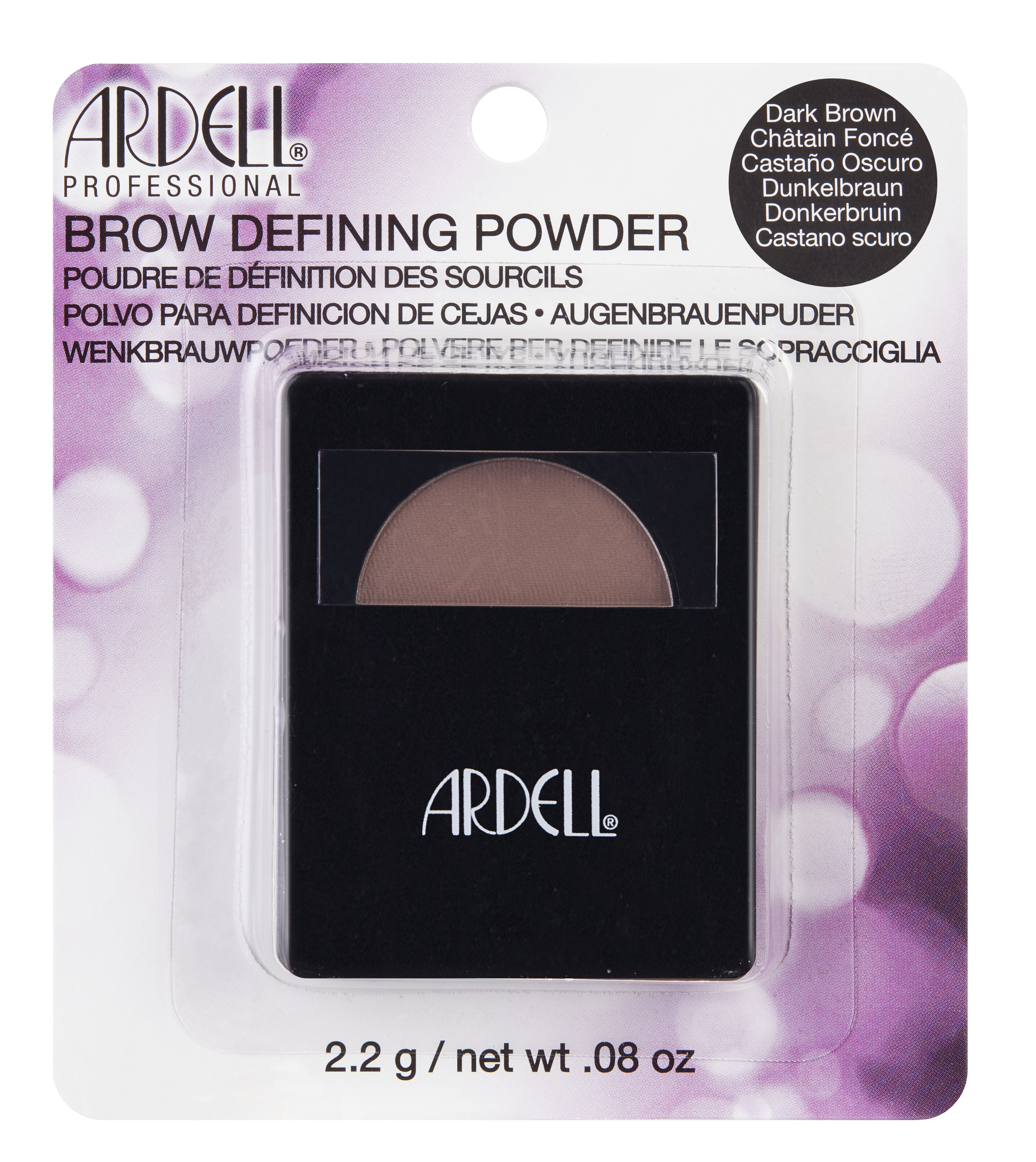ARDELL ����� ��� ������ � ������ � �������� (���-�����) / Brow Defining Powder Dark Brown 2,2��