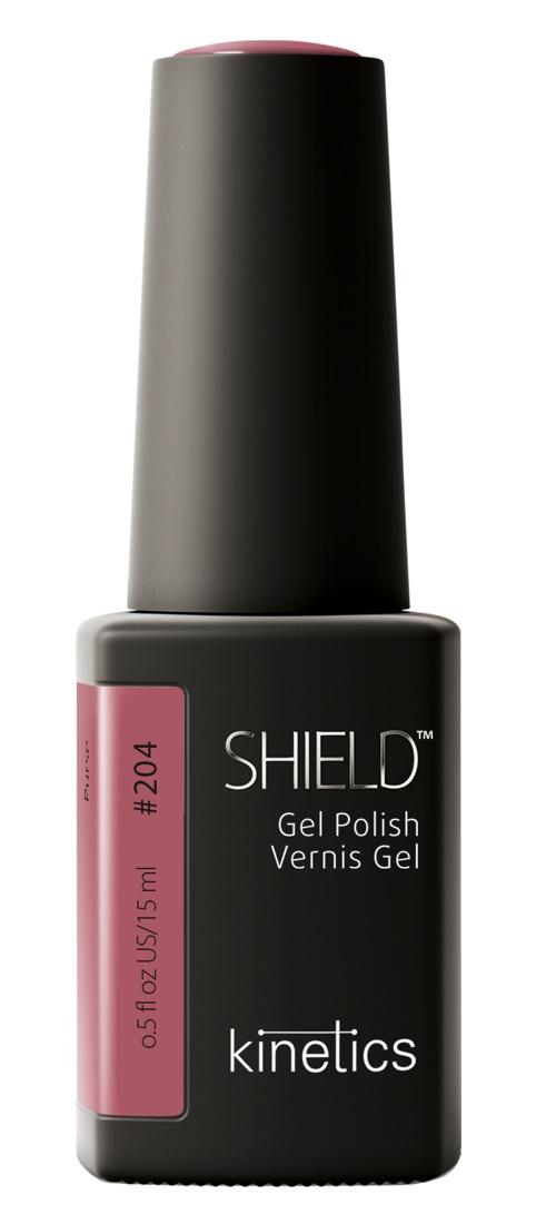 Купить KINETICS 204N гель-лак для ногтей / SHIELD 15 мл, Розовые