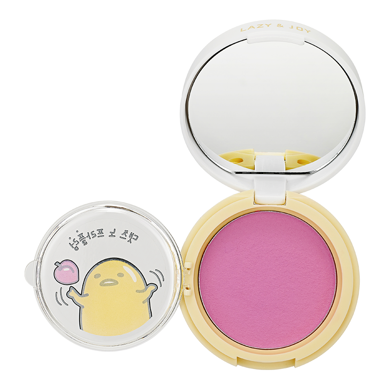 HOLIKA HOLIKA Румяна гелевые Гудетама, PK01 слива / Gudetama Jelly Dough Blusher 6 г - Румяна