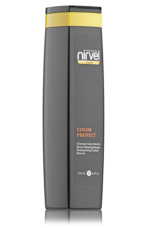 Купить NIRVEL PROFESSIONAL Шампунь оттеночный, коричневый / COLOR PROTECT COLOURING MARRON BROWN 250 мл