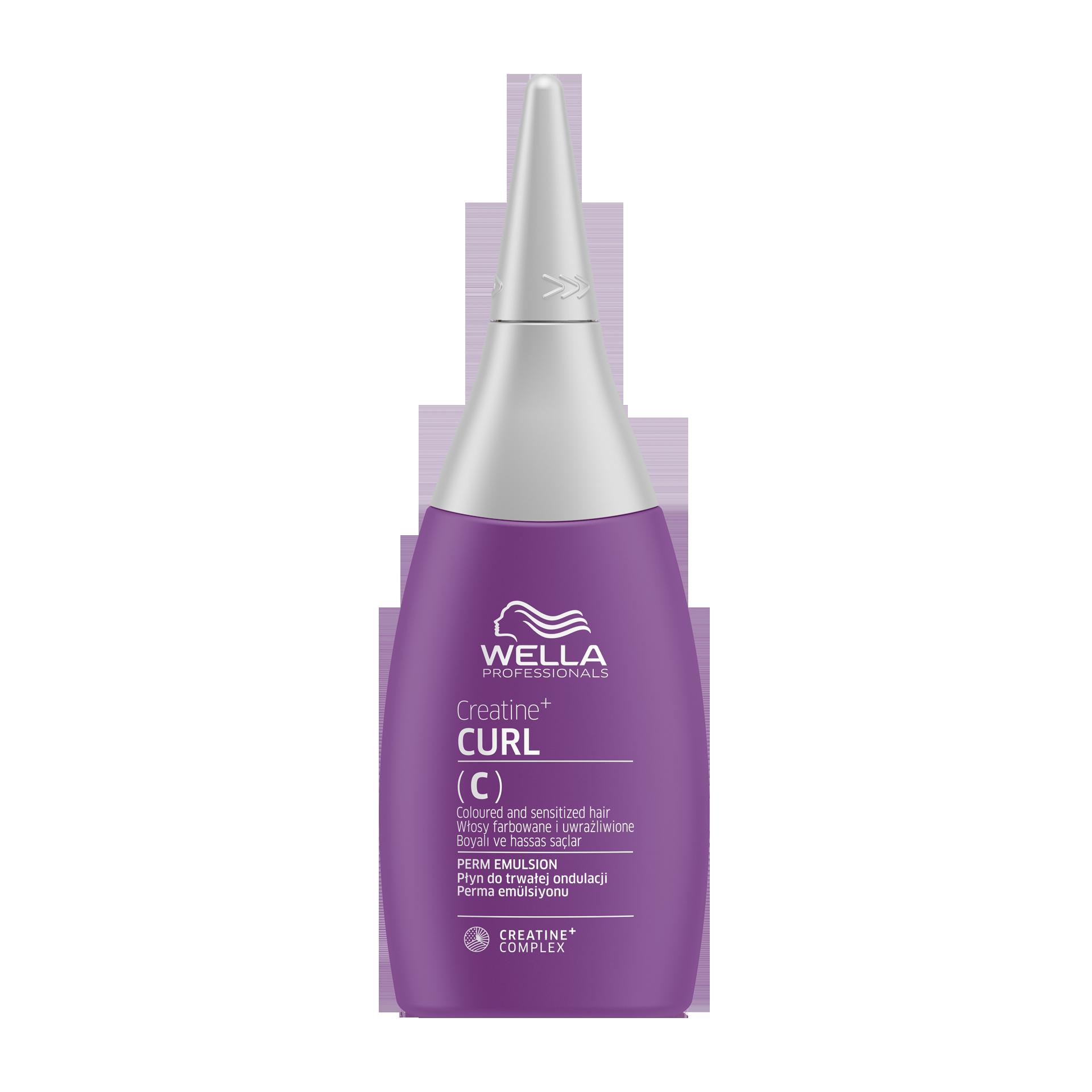 Купить WELLA Professionals Лосьон для окрашенных и чувствительных волос / CREATINE+ CURL 75 мл