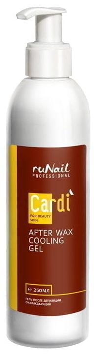 Купить RuNail Гель охлаждающий после депиляции / Cardi 250 мл