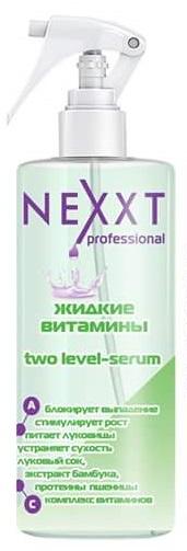 """NEXXT professional Сыворотка увлажняющая для роста волос """"Жидкие витамины"""" / TWO LEVEL SERUM 200мл"""