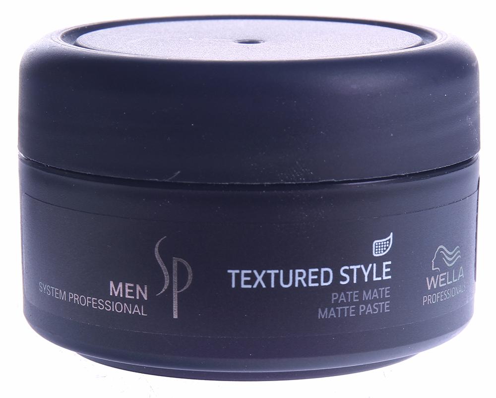 WELLA SP Паста с матовым эффектом для укладки волос / SP Men Textured style 75 мл - Пасты