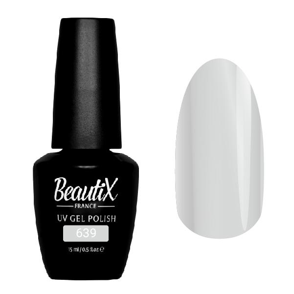 Купить BEAUTIX 639 гель-лак для ногтей 15 мл, Серые