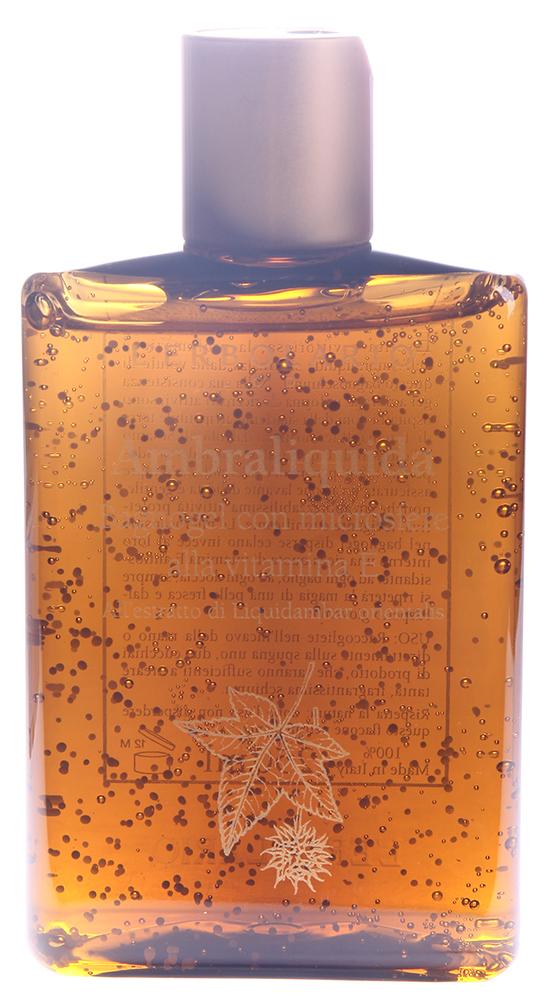 LERBOLARIO Гель для душа с витамином Е Амбровое дерево 250 млГели<br>В геле нежной консистенции бесчисленные микросферы содержат в большом количестве витамин Е. При каждом мытье кожа, таким образом, получает значительную порцию вещества, предупреждающего старение, которое усилено также водоглицериновым экстрактом ливидамбра.  Способ применения: Наберите небольшое количество геля в ладонь, нанесите его на тело и Вы почувствуете, что попали в облако торжествующего аромата ликвидамбара. Отсутствие в геле агрессивных поверхностно-активных веществ делает это средство очень мягким, пригодным для частого применения.<br><br>Назначение: Старение