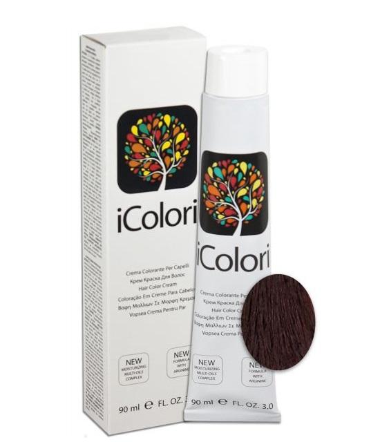 Купить KAYPRO 5.22 краска для волос, светло-каштановый фиолетовый интенсивный / ICOLORI 90 мл, Светло-каштановый