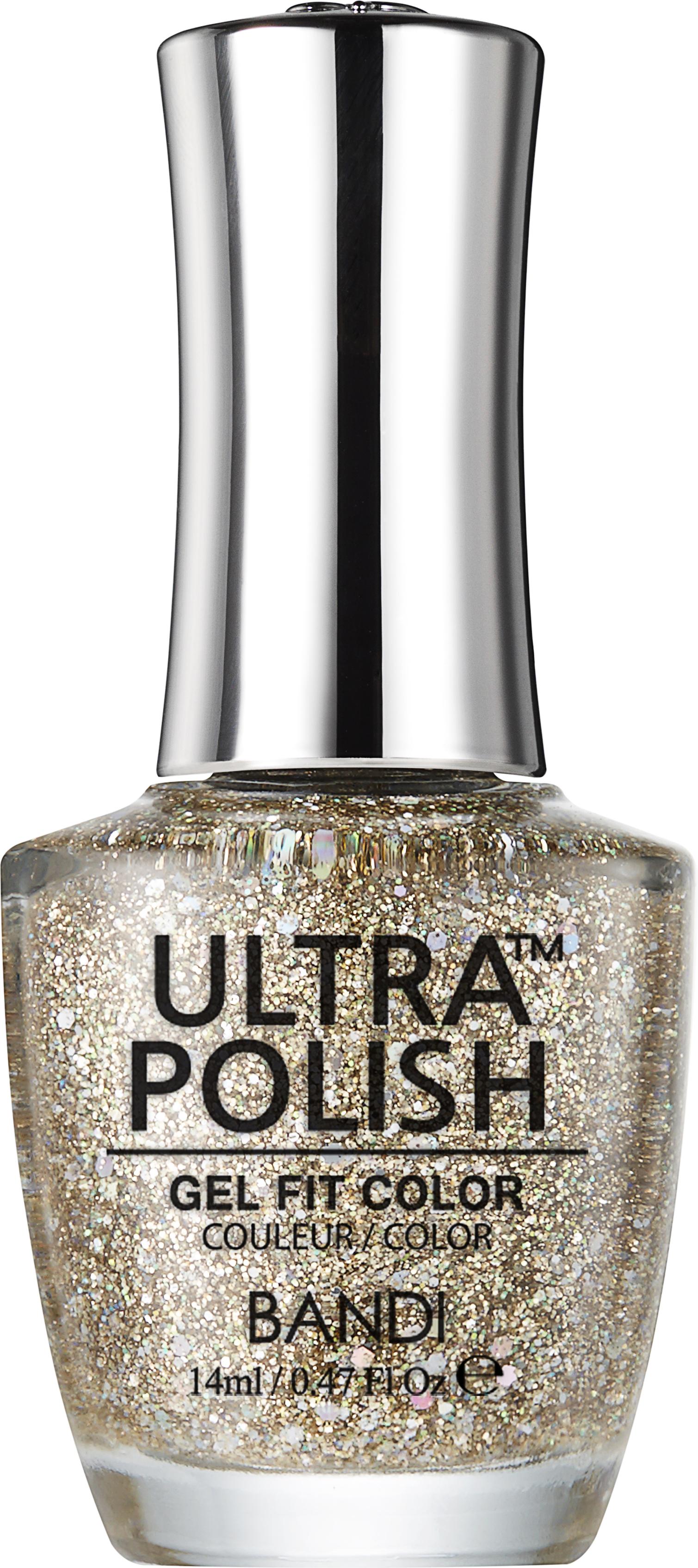Купить BANDI UP906 ультра-покрытие долговременное цветное для ногтей / ULTRA POLISH GEL FIT COLOR 14 мл, Желтые