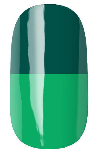 RuNail Гель-лак термо, сине-зеленый - салатовый / Thermo 7 мл runail дизайн для ногтей ракушки 0284