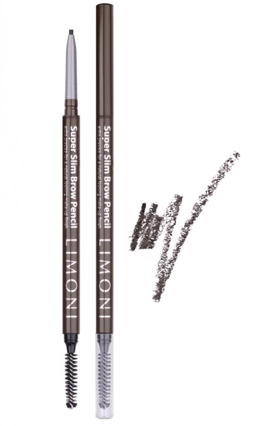 Купить LIMONI Карандаш для бровей № 01 / Super Slim Brow Pencil