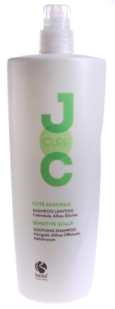 BAREX Шампунь успокаивающий с Календулой, Алтеем и Бессмертником / JOC CURE 1000мл barex contouring serum