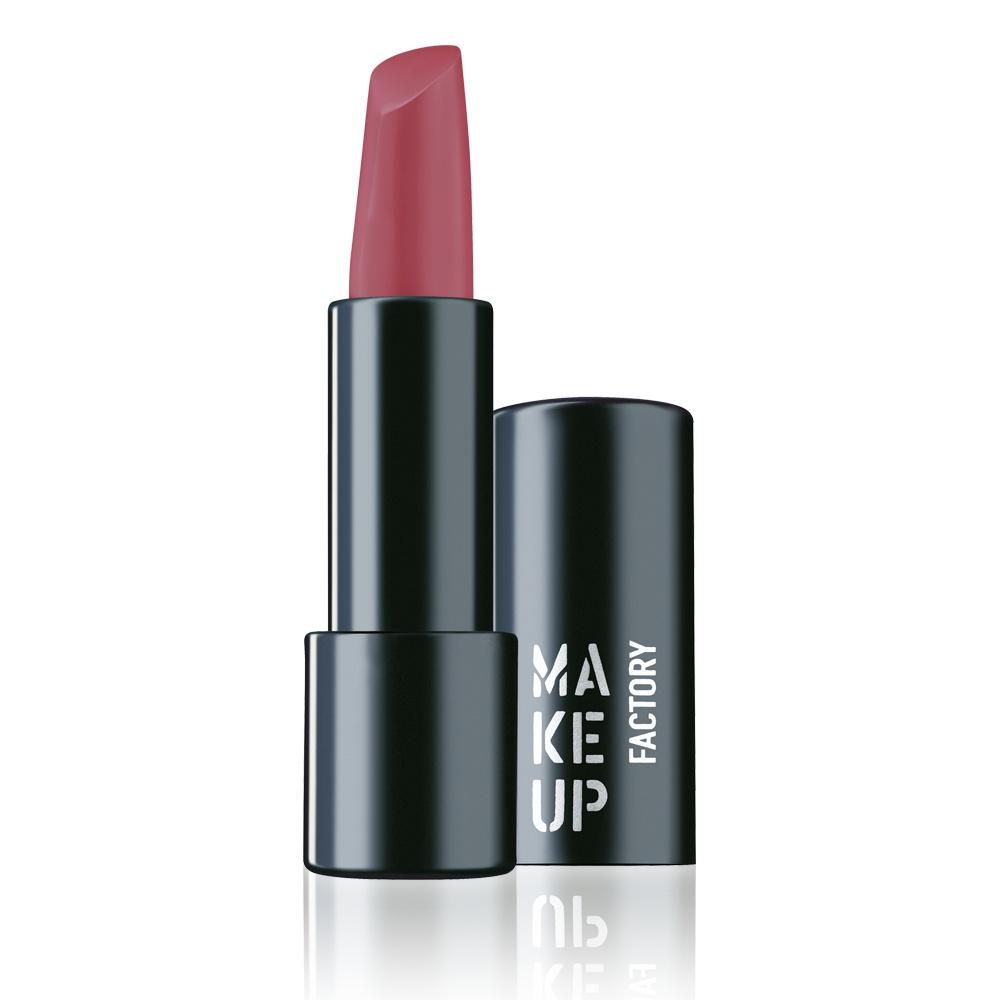 MAKE UP FACTORY Помада полуматовая устойчивая для губ, 158 ягодно-розовый / Magnetic Lips semi-mat & long-lasting 4 г помады make up factory кремовая помада для губ lip color 237 оттенок розовый коралл