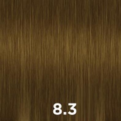 CUTRIN 8.3 крем-краска для волос, светлый золотистый блондин / AURORA 60 мл фото