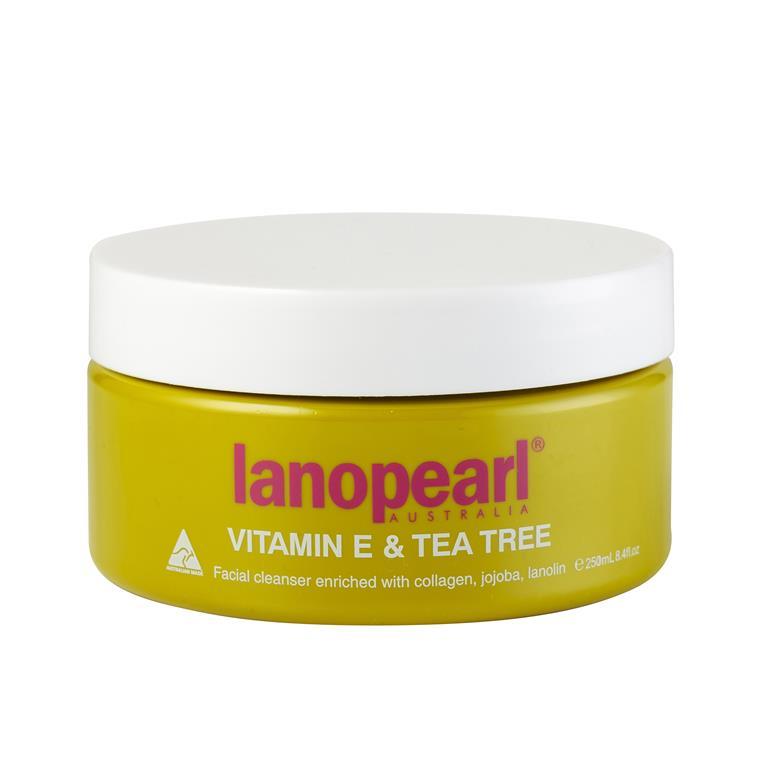 LANOPEARL Средство очищающее для лица с витамином Е и маслом чайного дерева / Vitamin E & Tea Tree 250 мл