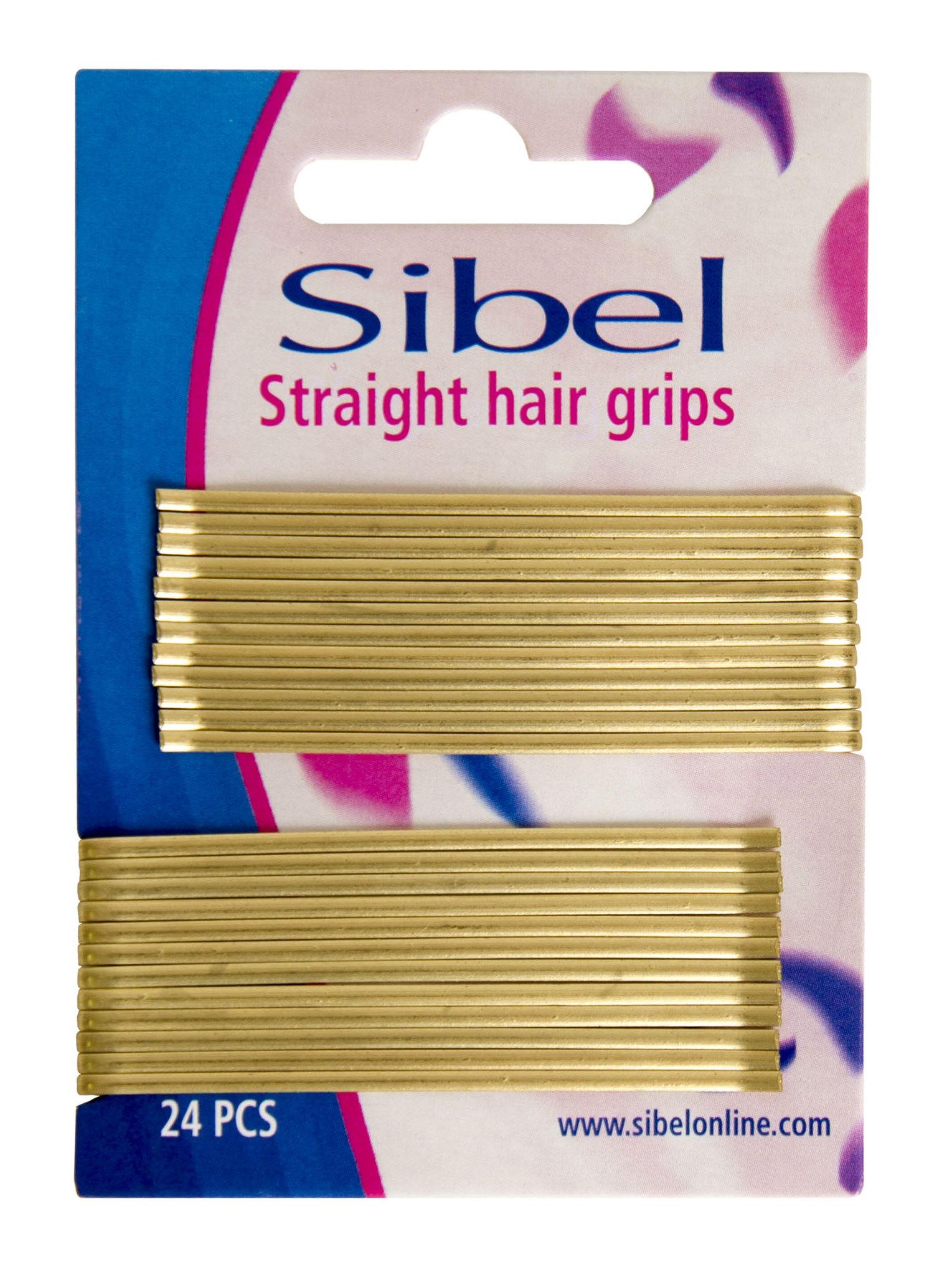 SIBEL Невидимки прямые, блондин 70 мм 24 шт/уп sibel невидимки 50 мм 24 шт 3 цвета невидимки 50 мм 24 шт 24 шт медно бежевые
