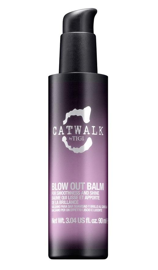 TIGI Сыворотка-бальзам для блеска и гладкости волос / CATWALK Blow Out Balm 90 мл