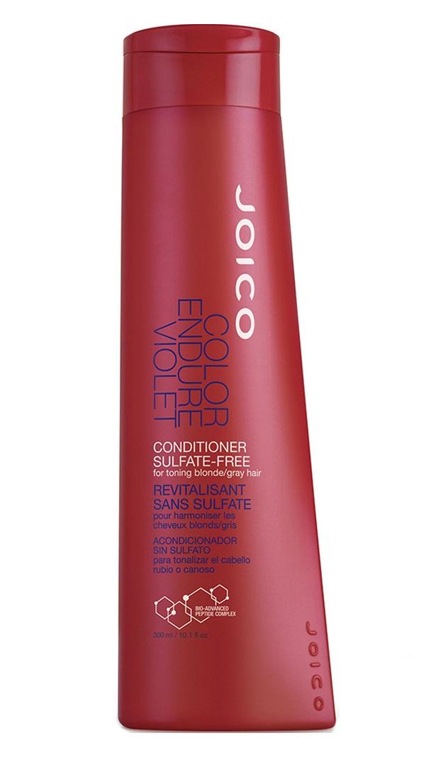 JOICO Кондиционер фиолетовый для осветленных и седых волос / COLOR ENDURE 300 мл.