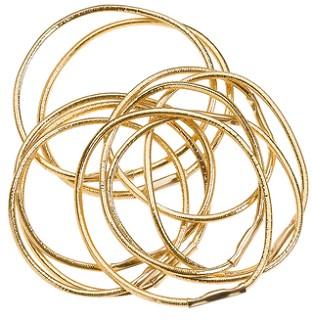 SIBEL Резинки (25) д/волос зол. мал. 10шт/упРезинки<br>Резинки для волос Sibel 45 мм (10 шт/уп).<br>