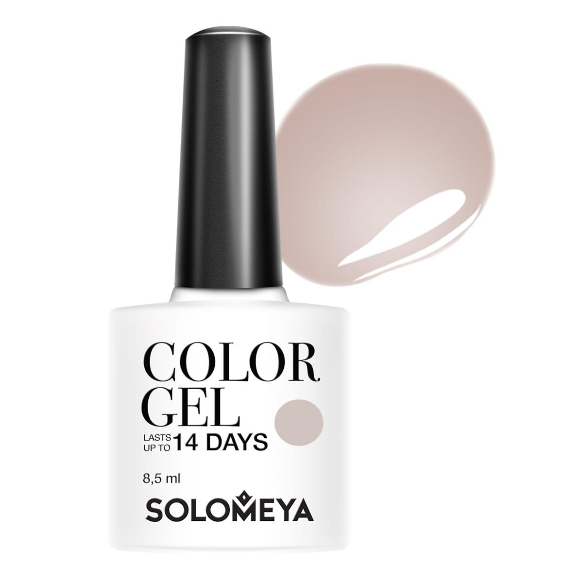 SOLOMEYA Гель-лак для ногтей SCGY096 Мадлен / Color Gel Madeleine 8,5мл madeleine туфли madeleine 24477 grau
