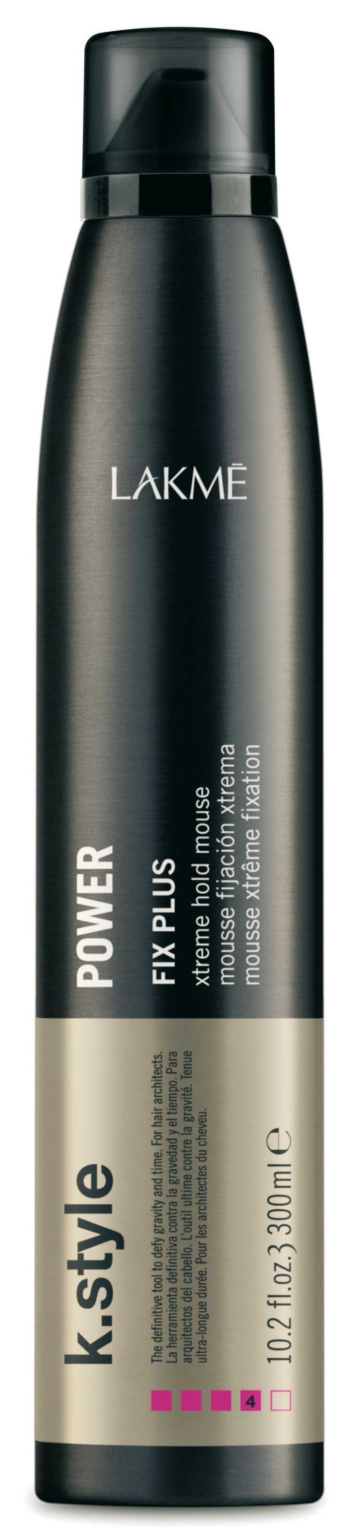 LAKME Мусс экстрасильной фиксации для укладки волос / POWER 300 мл