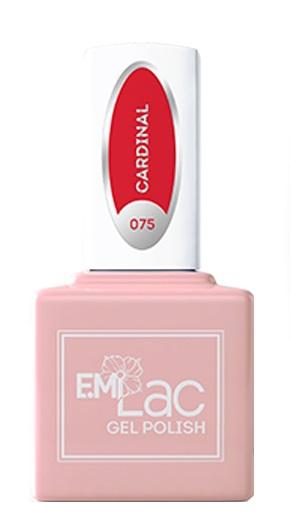 Купить E.MI 075 DV гель-лак для ногтей, Кардинал / E.MiLac 6 мл, Красные