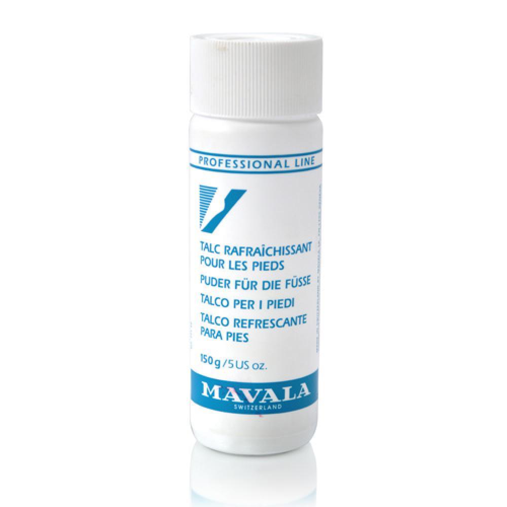 MAVALA Пудра-тальк освежающая для ног / Cooling Talcum Powder for Feet 150 г