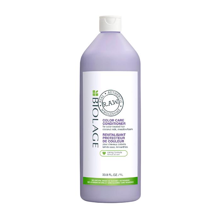 BIOLAGE Кондиционер для окрашенных волос с кокосовым молочком и луговыми травами / R.A.W. COLOR CARE 1000 мл
