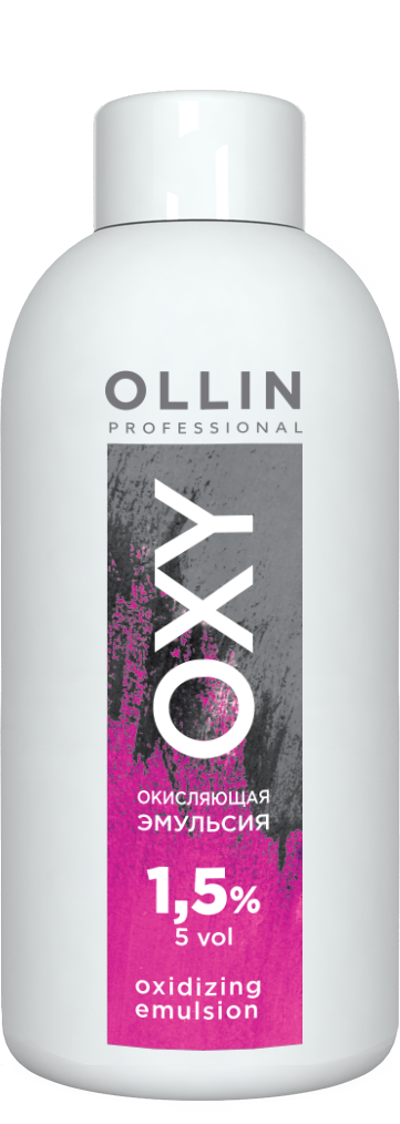 OLLIN PROFESSIONAL Эмульсия окисляющая 1,5% (5vol) / Oxidizing Emulsion OLLIN OXY 90 мл