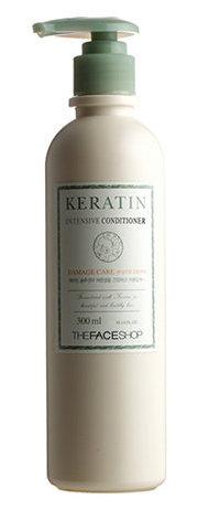 THE FACE SHOP Кондиционер для волос / Keratin Intensive Conditioner 300 мл -  Кондиционеры