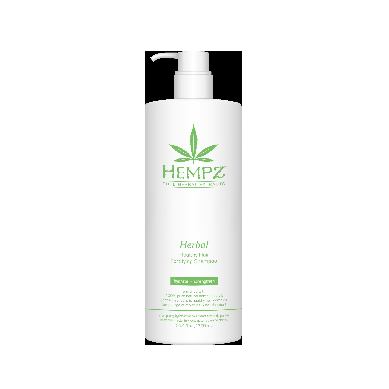 HEMPZ Шампунь растительный укрепляющий Здоровые волосы / Herbal Healthy Hair Fortifying Shampoo 750 мл фото
