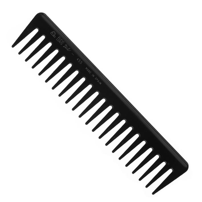 EUROSTIL Расческа ES греб. 00455Расчески<br>Гребень из высококачественного пластика с редкими зубцами. Широкий модельный ряд.180 мм.<br>