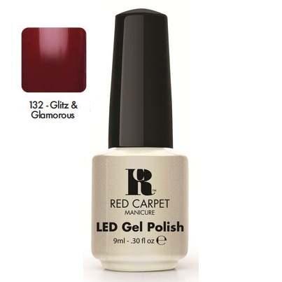 "RED CARPET 132 ����-��� ��� ������ ""Glitz & Glamorous"" / LED Gel Polish 9��~"