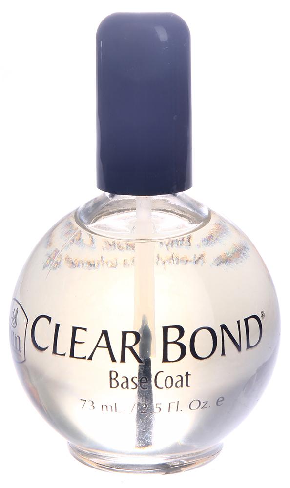 INM Основа прозрачная под лак / Clear Bond Coat 75млБазовые покрытия<br>Это прозрачное, быстросохнущее базовое покрытие удлиняет срок службы лака для ногтей, образуя молекулярную связь между ногтевой пластиной и слоем лака.<br><br>Объем: 75<br>Типы ногтей: Нормальные