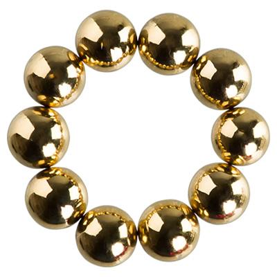IRISK PROFESSIONAL Набор магнитных шариков для дизайна гель-лаком Кошачий глаз, 02 золото 10 шт фото