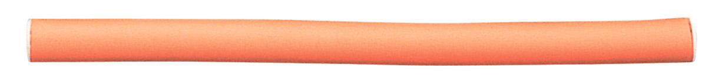 SIBEL Бигуди-папиллоты оранжевые 25 см17 мм (41171).