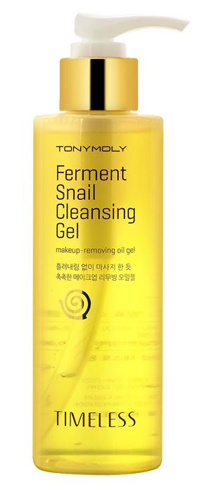 TONYMOLY Масло-гель гидрофильное / Timeless Ferment Snail Cleansing Gel 200 мл