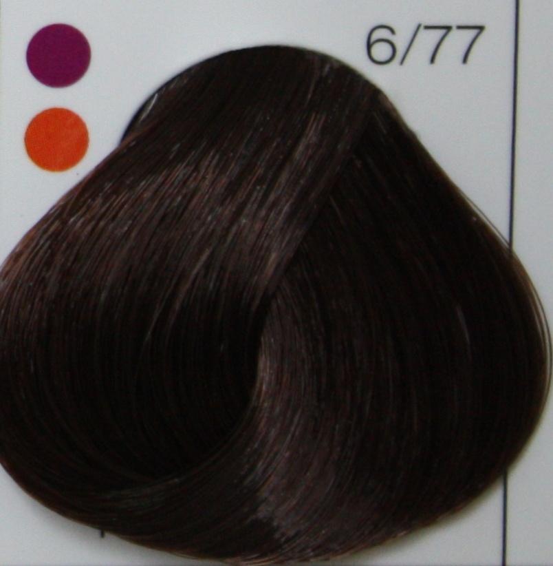 LONDA PROFESSIONAL 6/77 Краска для волос LC NEW инт.тонирование тёмный блонд инттенсивно-коричневый, 60мл