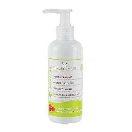 BEAUTY IMAGE Крем увлажняющий для ног Грейпфрут 200млКремы<br>Освежающий крем с приятным ароматом грейпфрута благодаря тщательно подобранной формуле обеспечивает глубокое увлажнение и быстро улучшает состояние кожи ног уже после первого применения. Входящий в состав крема триклозан оказывает антисептическое и дезодорирующее действие. Сок грейпфрута и молочная кислота обладают антимикробным и противогрибковым действием, поддерживают тонус и увлажненность кожи, способствуют ее обновлению. Масло шиповника питает, устраняет раздражение, сухость и шелушение, стимулирует регенерацию клеток кожи. Экстракт ромашки оказывает противовоспалительное, смягчающее и успокаивающее действие. Активные ингредиенты: триклозан, сок грейпфрута, молочная кислота, масло шиповника, экстракт ромашки. Способ применения: крем предназначен для ежедневного ухода за кожей ног, а также возможно его использование в процедуре парафинотерапии.<br>